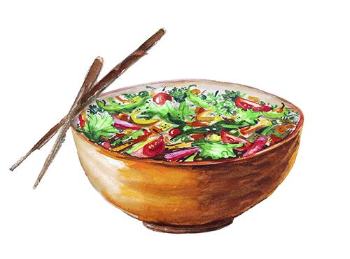 Omega Salatschüssel
